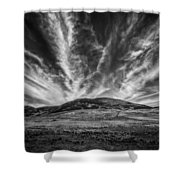 The Claw Of Destiny Shower Curtain