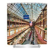 The Cleveland Arcade I Shower Curtain