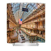 The Cleveland Arcade Iv Shower Curtain