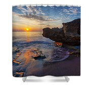 The Cliffs Of Florida Shower Curtain