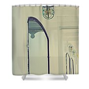 The Colonel Shower Curtain