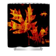 The Color Of Autumn Shower Curtain