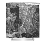 The Colorado River Shower Curtain