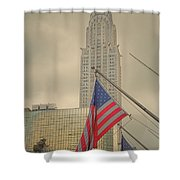 The Colors Flying In New York Shower Curtain