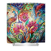 The Colors Of Day Shower Curtain