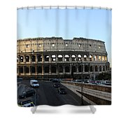 The Colosseum In Rome Shower Curtain