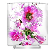 10989 The Colour Of Summer Shower Curtain