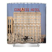 The Congress Hotel - 1 Shower Curtain
