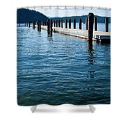 The Coolin Dock Shower Curtain