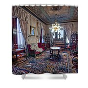 The Copper King's Music Room - Butte Montana Shower Curtain