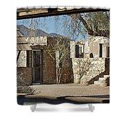 The Courtyard Shower Curtain