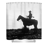 The Cowboy, 1954 Shower Curtain