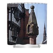 The Cross Chester Shower Curtain