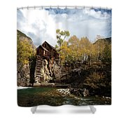 The Crystal Mill Shower Curtain