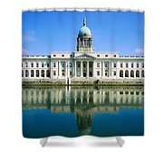 The Custom House, River Liffey, Dublin Shower Curtain