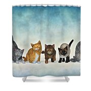 The Cute Ones Shower Curtain