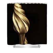 The Dance Of The Golden Moonflower Shower Curtain