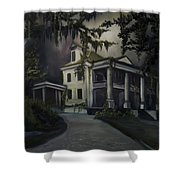 The Dark Plantation Shower Curtain by James Christopher Hill
