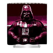 the Dark Side is Strong Shower Curtain