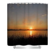 The Day Begins ... Shower Curtain