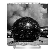 The Day The Stars Fell To Earth Shower Curtain by David Lee Thompson