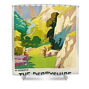 The Derbyshire Dales Shower Curtain by Frank Sherwin