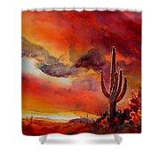 The Desert Shower Curtain