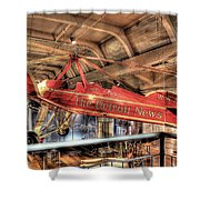 The Detroit News Airplane Dearborn Mi Shower Curtain