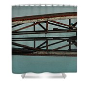 The Docks Shower Curtain