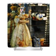 The Doll Salzburg Shower Curtain by Mary Machare
