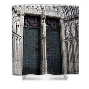 The Door Of Forgiveness Shower Curtain
