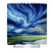 The Dragon Storm Shower Curtain