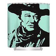 The Duke In Color Shower Curtain