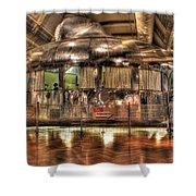 The Dymaxion House Dearborn Mi Shower Curtain