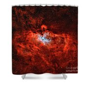 The Eagle Nebula In The Constellation Shower Curtain