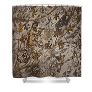 The Earliest And Only Known Murals Shower Curtain