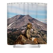 The Edge Of Glory Shower Curtain