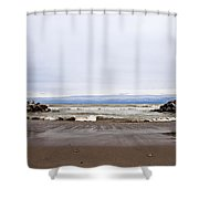 The Edge Of Mother Nature Shower Curtain