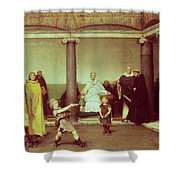 The Education Of The Children Of Clothilde And Clovis Shower Curtain