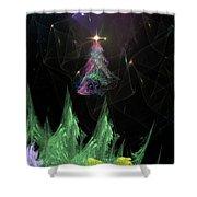 The Egregious Christmas Tree 2 Shower Curtain
