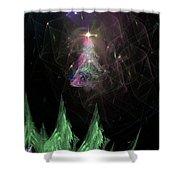 The Egregious Christmas Tree 3 Shower Curtain