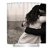 The Embrace Shower Curtain