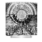 The Emerald Tablet, 1618 Shower Curtain