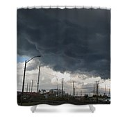 The End Came Quickly Shower Curtain