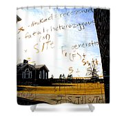 The Equation Shower Curtain