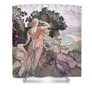 The Excursionists Shower Curtain