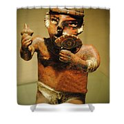The Eye Of Hunger Shower Curtain