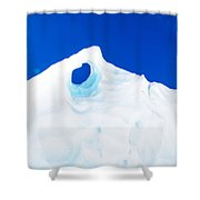 The Eye Of The Glacier Shower Curtain