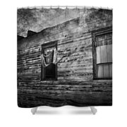 The Facade  Shower Curtain