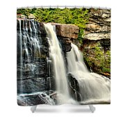 The Face Of The Falls Shower Curtain